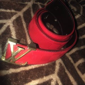 Men's Size Medium knock off Louis Vuitton Belt
